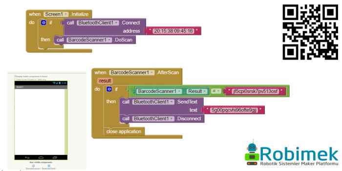 App Inventor 2 ile Barkod Okuyucu Uygulaması Yapımı