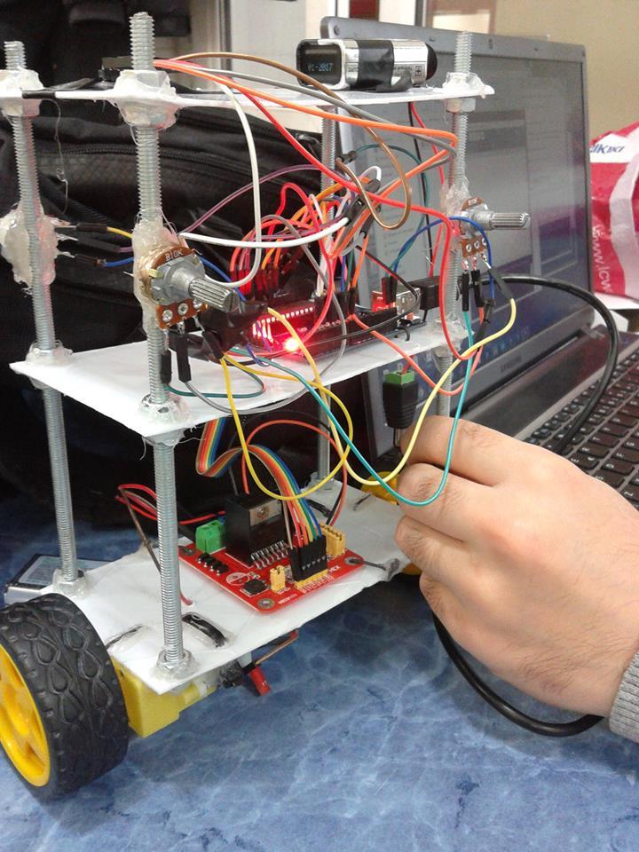Arduino İle kendini dengeleyen robot yapımı