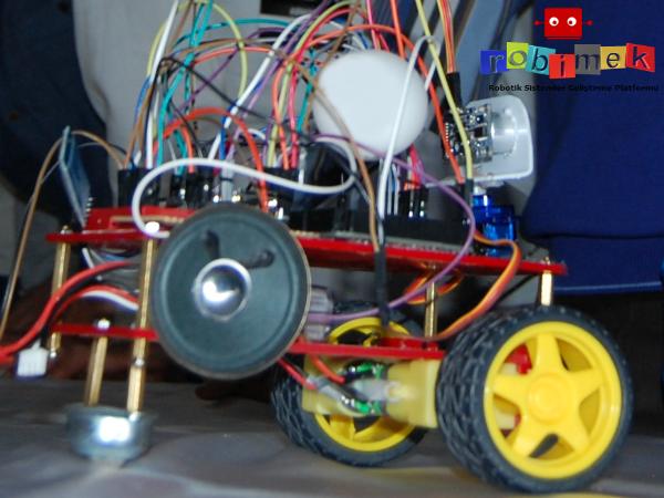 Arduino İle yapay zeka tabanlı konuşan robot projesi