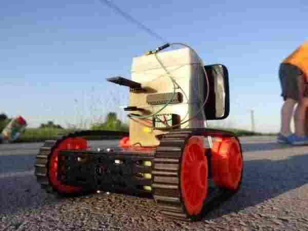 opencv-robot