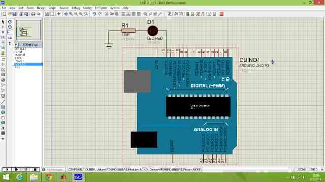 Proteus ISIS İle Arduino Simülasyonu Yapımı