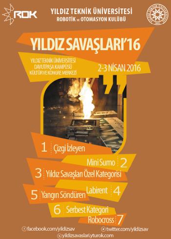Yıldız Teknik Üniversitesi Yıldız Savaşları 2016