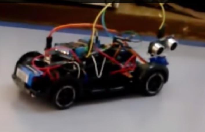Engel algılayan robot arduino obstacle