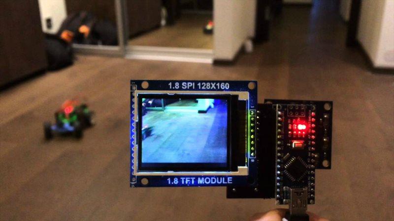 Arduino ve OV7670 Kamera Modül ile TFT Ekrana Canlı Görüntü Aktarımı