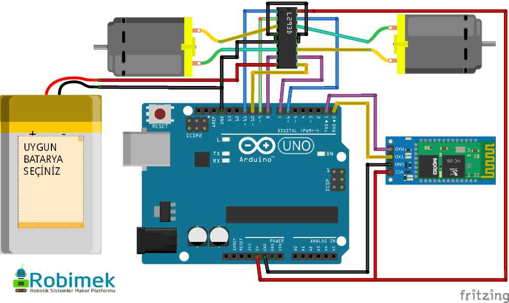 Arduino android opencv ile nesne takip robotu yapımı