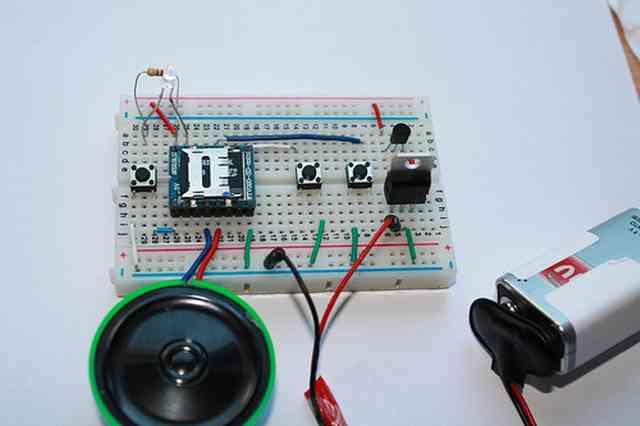 Arduino ile Mp3 ses dosyası Çalma (WTV020SD-16P Kullanımı)