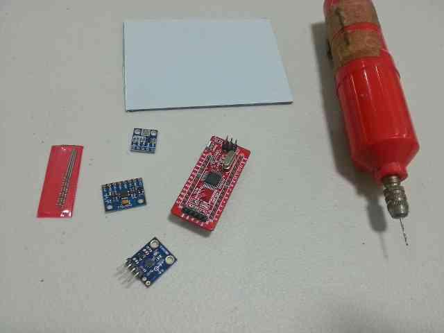 Arduino tabanlı quadcopter kontrol projesi